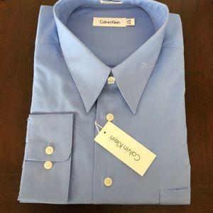 """Calvin Klein NEW men's dress shirt 17 1/2"""""""